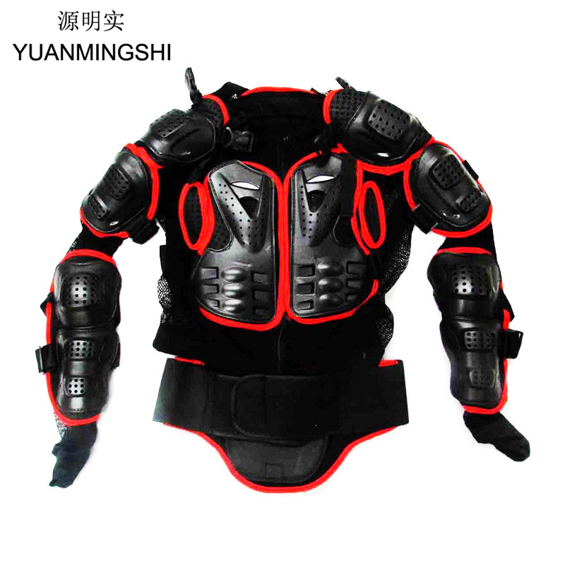 YUANMINGSHI Professional Motorcycle Jacket Body Armor Protector CE Approved Motocross Riding Body Protection Gear Guards ...