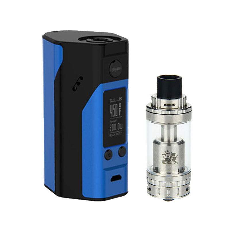 ФОТО 100% Original 200W WISMEC Reuleaux RX200S Temp Mod and GeekVape Griffin 25 RTA Top and Bottom Airflow Rebuildable Atomizer