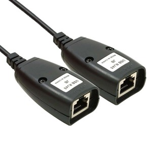 Image 4 - GuSou 1 Paar USB 2.0 USB2.0 Mannelijke & Vrouwelijke om Rj45 Vrouwelijke Extended Cable PC Printer Camera Netto Kabels
