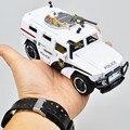 1:35 Aleación modelo de coche de policía coche Jeep blindado de Alta Movilidad mejor regalo para los niños