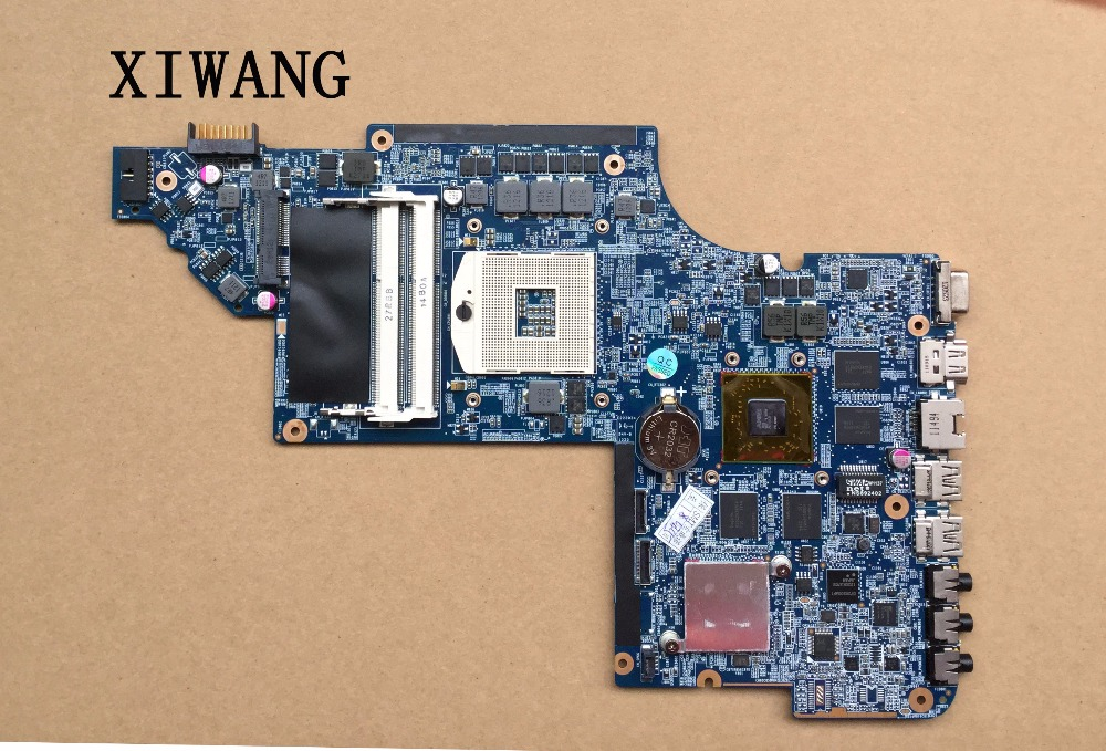 Original laptop Motherboard 650799-001 for HP PAVILION DV6 DV6-6000 motherboard HM65 HD6770/2G Notebook PC system board tested 641488 001 for hp pavilion dv6t 6000 notebook dv6 6000 laptop motherboard hm65 hd6770 1g