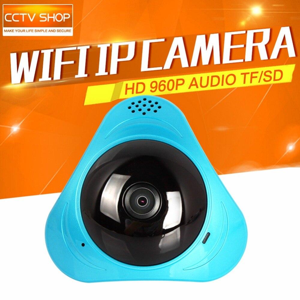 360 Degree Smart panoramin IPC Wireless IP Camera Fisheye Camera Support Two Way Audio P2P Baby Monitor 960P HD 960P WIFI Camera
