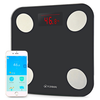 Mini 2 Balance Smart Body Fat Scale Intelligent Data Analysis APP Control Digital LED Bathroom Scale Weighing Health Care Tool