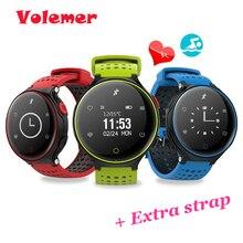 Volemer X2 Смарт Часы Heart Rate Мониторы IP68 Водонепроницаемый Одежда заплыва Bluetooth SmartBand Приборы для измерения артериального давления кислорода dynimac SmartWatch