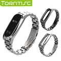 Torntisc 1 pcs Newest Metal Strap Stainless Steel Wristband Strap Plus Replacement Band For Miband 2 Xiaomi Mi band 2 Wristband