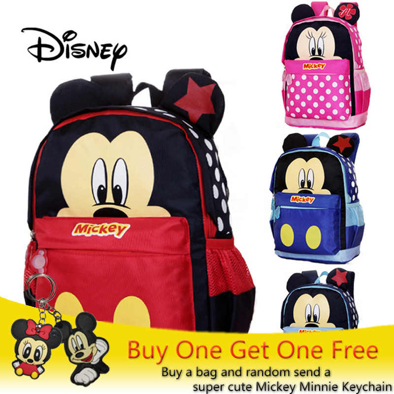 977724621a2 Detail Feedback Questions about 2019 Disney Children Mickey Minnie Boys  Girls School Bag Cute Kids Backpacks Mouse Cartoon Bags Lovely Kid Travel  Backpack ...