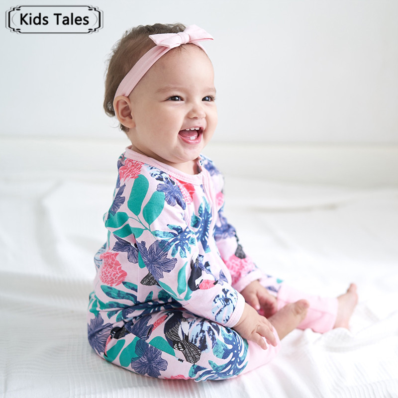 Baby & Toddler Clothing Spring Autumn Baby Romper Boys Girls Long-sleeved Striped Cotton Jumpsuit Complete In Specifications