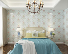 beibehang Classic fashion personality decoration room bedroom kitchen small floral wallpaper papel de parede 3d papier peint