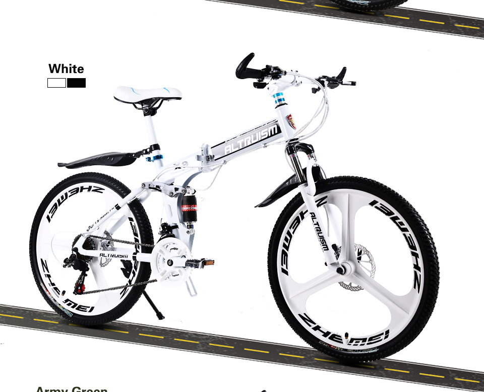 X9 Pro Steel 21 Speed 26 Inch Folding Bike
