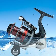 лучшая цена 13+1 BB axis Metal Wire Cup and Rocker Arm Spinning Wheel Reel Fishing Reel Fishing Equipment Fishing Reel