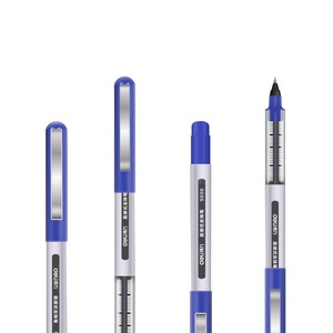 Image 5 - מעדנייה ישיר נוזלי כדורי טונגסטן קרביד חרוזים עט סיטונאי מחיר 36 חתיכה הרבה תלמיד שחור עט 0.5mm ג ל עט S656
