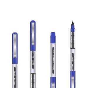 Image 5 - Deli Direct flüssigkeit kugelschreiber hartmetall perlen stift großhandel preis 36 stück viel Student schwarz stift 0,5mm gel stift S656