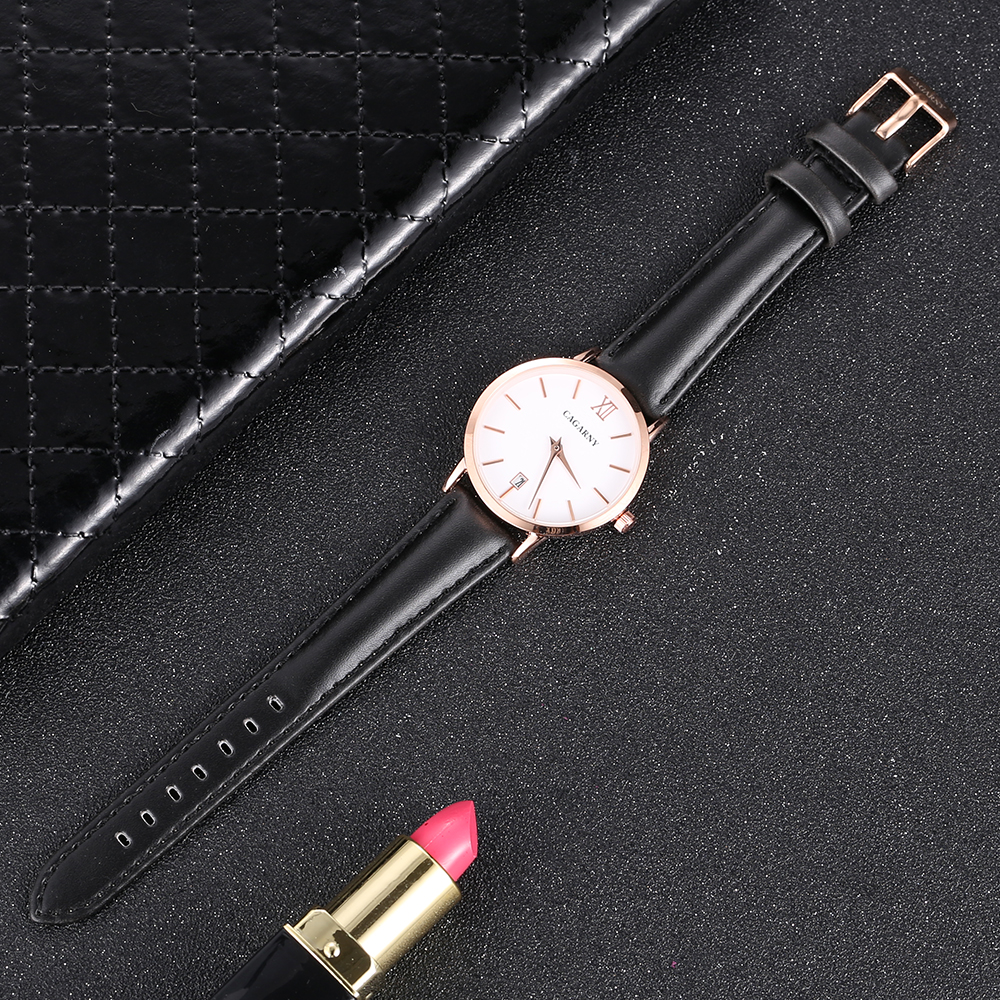 Cagarny Women Watches Luxury Brand Leather belt Ladies Quartz Women Watches 2018 Sport Relogio Feminino Rose Gold Montre Femme Wrist Watch high quality (6)