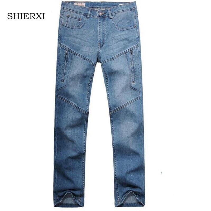 Men Jeans Loose elastic Pants Men's Jeans Fashion Men Jeans trousers Size 27-48