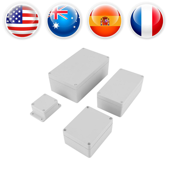 Waterproof Terminal Box IP65 ABS Electrical Project Connection Boxes Enclosure Instrument Case Outdoor Junction Box White