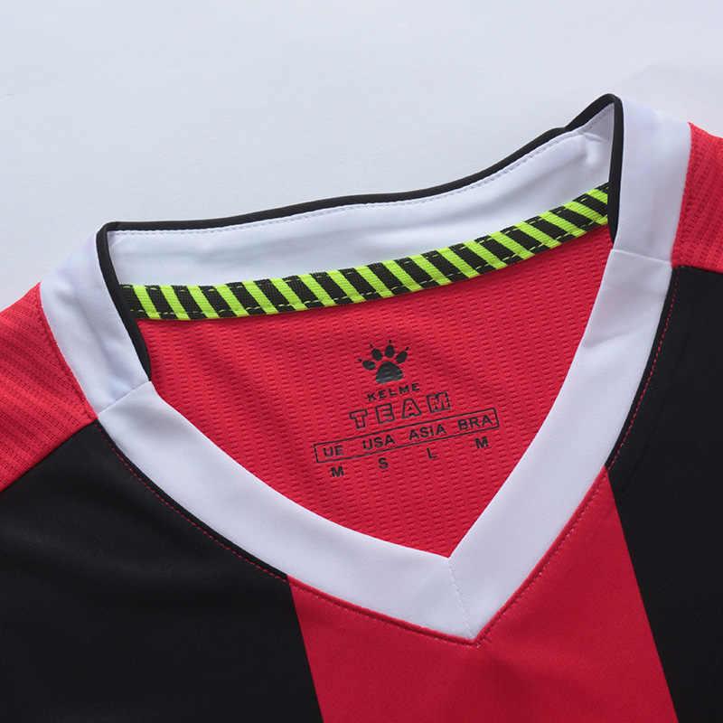 Kelme personalizado camisas de futebol dos homens uniformes de futebol da equipe suis mangas curtas camisa de futebol treinamento breatale masculino 3881018