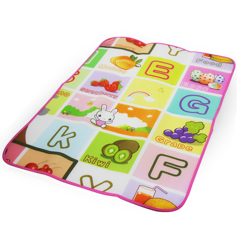 Cheapest Infant child baby crawling climbing play mat outdoor game picnic mat foam beach mat