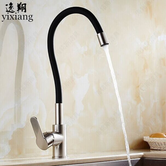 Colorful Kitchen Faucet Single Handle Mixer Sink Basin Tap 360