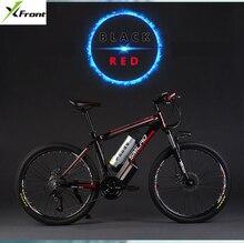 Оригинальный x-передний бренд 26 Дюймов 48 в 500 Вт 12А литиевая батарея горный электрический велосипед 27 скоростной электровелосипед горные ebike