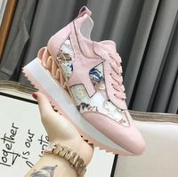 She Dian 2018 spring and summer lace up women shoes genuine elather mesh comfortable causal shoes crystal sweet women shoes
