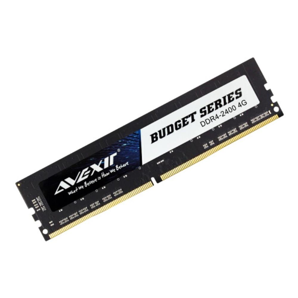AVEXIR RAM DDR4 Desktop Memory 4GB/8GB/16GB Memory Frequency 2133MHz/2400MHz Memory Voltage 1.2V PC4-17000/PC4-19200 Single RAM 1
