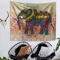 Indian mandala print Tapestry Beach Towel Sofa Sets Tablecloth Bed Sheets Picnic Mats 12 Models Elephant Wall Hanging Cloth