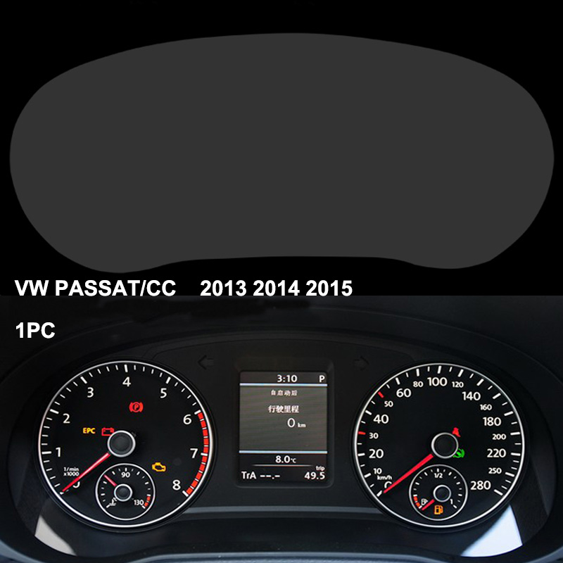 Car styling dashboard protective film for volkswagen passat b7 b8 vw cc 4h scratchproof 99 for Automotive interior protective film
