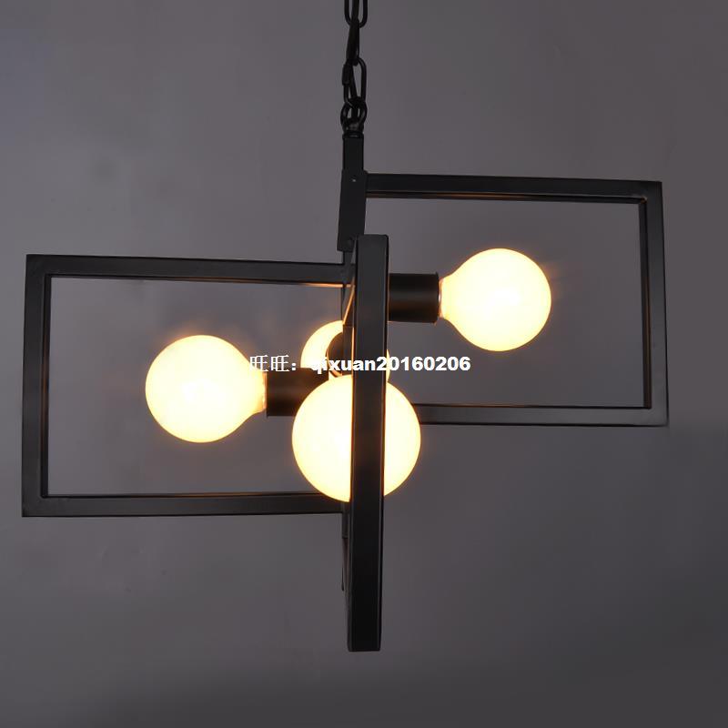American Village Light Industry Retro-Stil Kronleuchter - Innenbeleuchtung - Foto 3