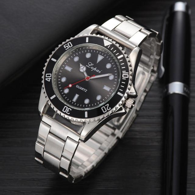 Casual Quartz Steel Belt Watch Analog Wrist Watch Sport 2018 wrist watch Luxury