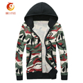 Casual Bomber Jacket Spring 2017 Camouflage Men Coat Long Sleeve Zip Hoodies Outdoors High-quality Camo Jacket Men Clothes