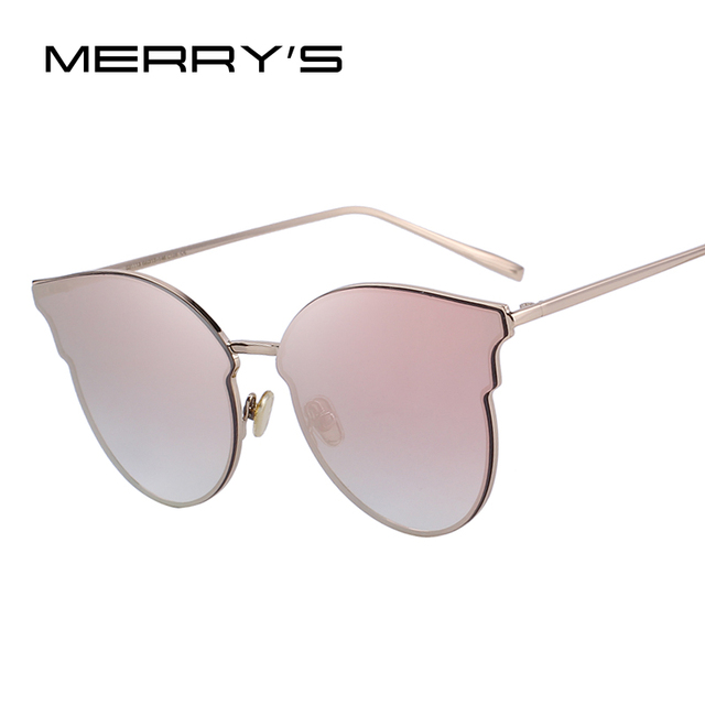 c8775e39557 MERRY S DESIGN Women Classic Cat Eye Sunglasses 100% UV Protection S 6322