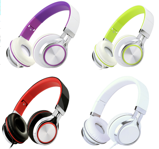 Sound intone ms200 fone de ouvido fones de ouvido da marca fone de ouvido estéreo baixo headband fones de ouvido para mp3 mp4 celular pc tablet dobrável