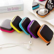 AsyPets Fashionable Portable Earphone Bag USB Cable Charger Container Key Jewelry Bag Gift for Birthday Christmas Halloween -40