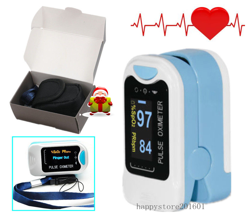 2016 CE CONTEC CMS50N Pulse Oximeter Fingertip blood oxygen saturation SpO2 PR monitor OLED