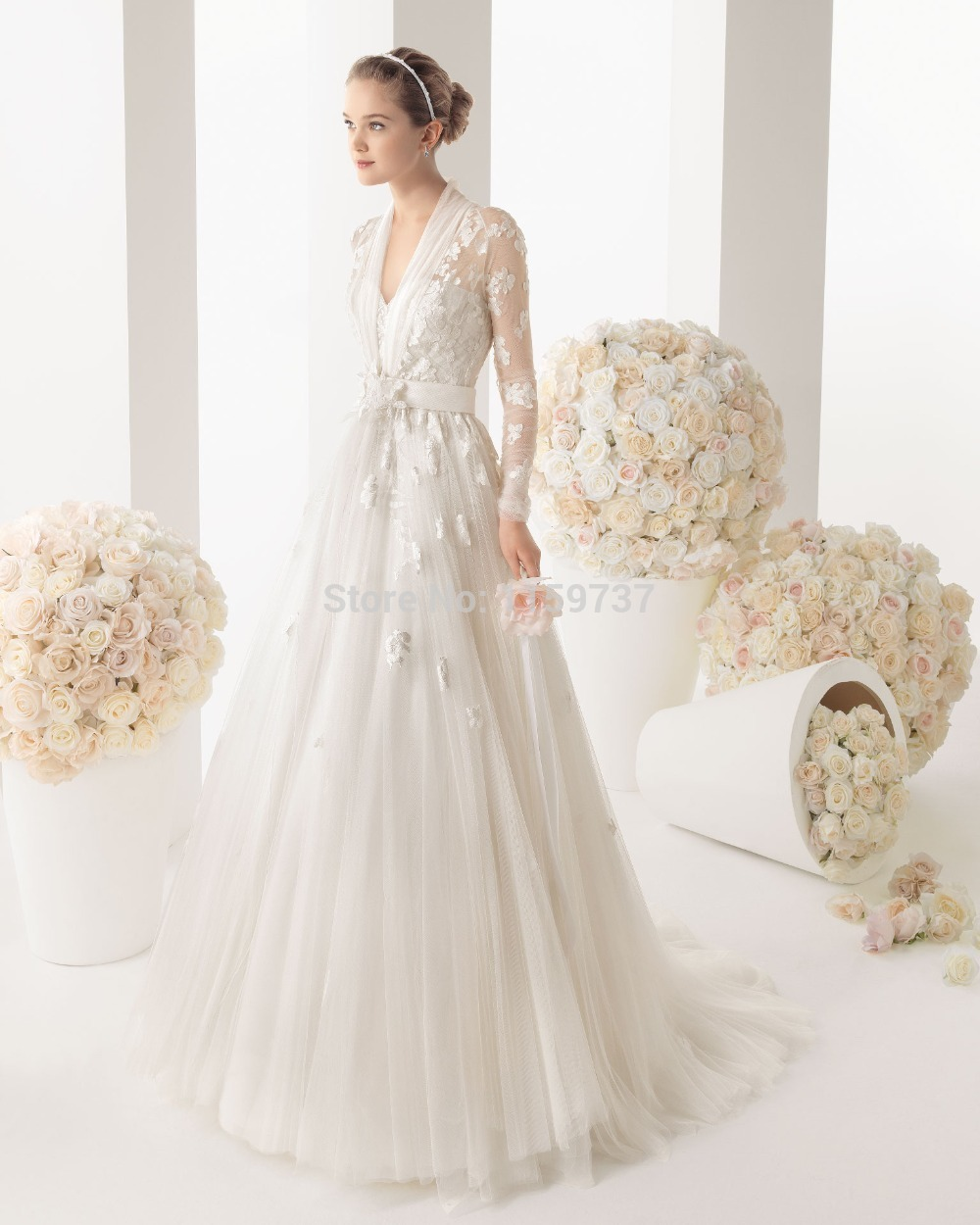 Beach Style Wedding Dresses Petite Women Vintage Inspired Nicole ...