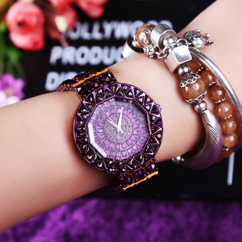 FUYIJIA New Purple Watch Ladies Quartz Watches Women Dress Fashion Watches Brand Luxury Lady Bracelet Watch Relogio Feminino