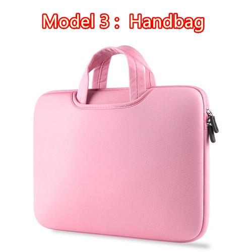Hot Zipper Computer Sleeve Case For Macbook Laptop AIR PRO Retina 11 12 13 14 15 13.3 15.4 15.6 inch 2