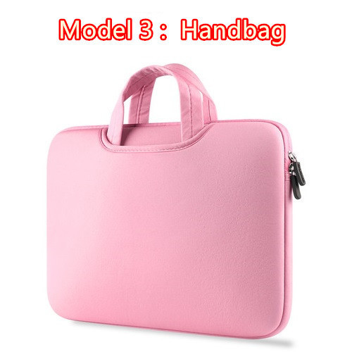 Hot Zipper Computer Sleeve Case For Macbook Laptop AIR PRO Retina 11 12 13 14 15 13.3 15.4 15.6 inch 2