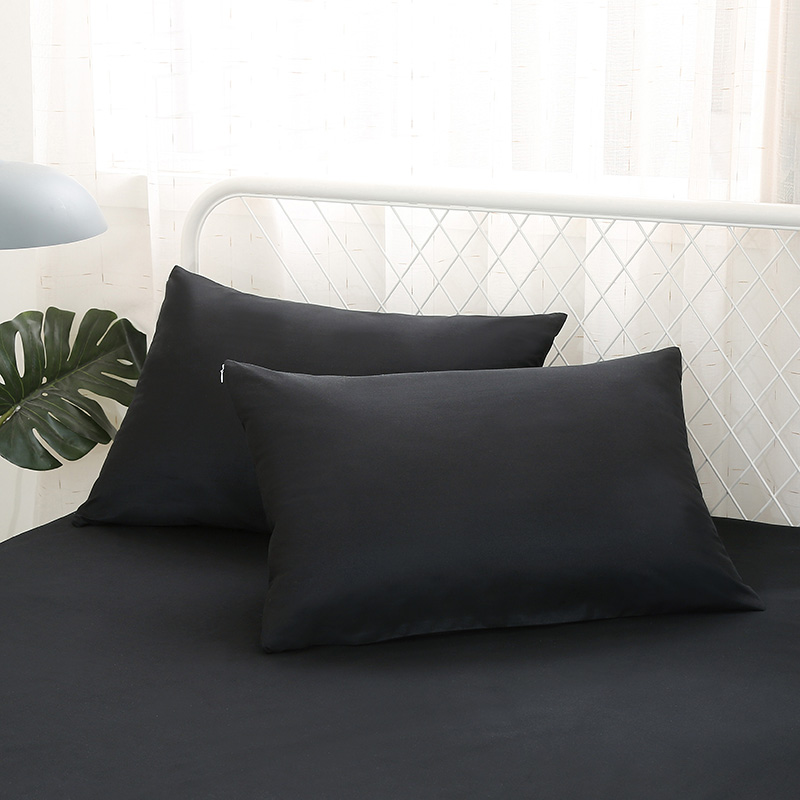 Waterproof Pillow Cases 50x70 Microfiber Beach Sweat Proof Pillow Cover Bed Bug Breathable 2pc