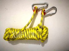 50m High-strength polyester core Dia 10mm Braided Nylon Anchor Rope line for kayak/canoes/boats/Outdoor/Climbing