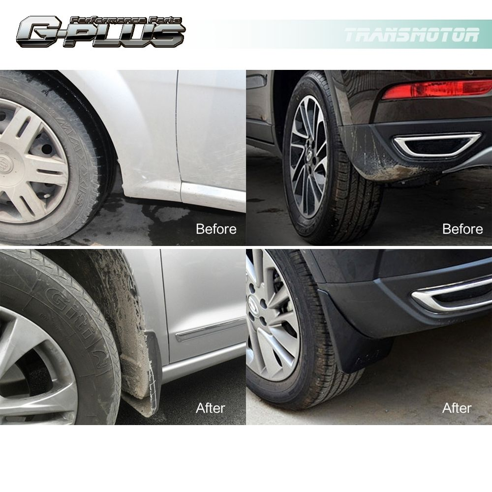 4PCS Mud Flap Splash Guards Fender Mudguard For 2006 2010 BMW X3 E83 Black In Mudguards From Automobiles Motorcycles On Aliexpress