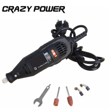 Crazy Power 220V 180W Dremel Electric Tools Mini Grinder Drill Dremel Drill Speed Electric Drill Accessories AMY009