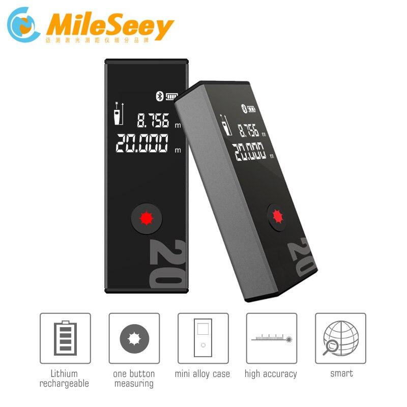 Mileseey D9 40 m Laser Télémètre Numérique Laser Mètre de Distance laser range finder ruban mesureur de distance