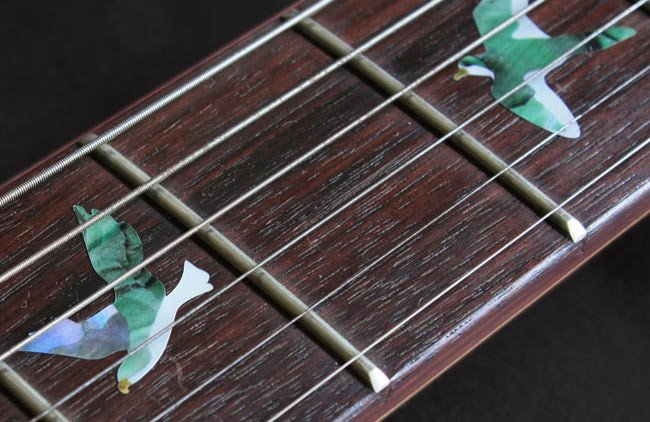 Fretboard Markers Inlay Sticker Decals for Guitar & Bass - Birds in Flight - Abalone Mixed Color  electric acoustic guitar inlay sticker fretboard markers scale decal sricker us v