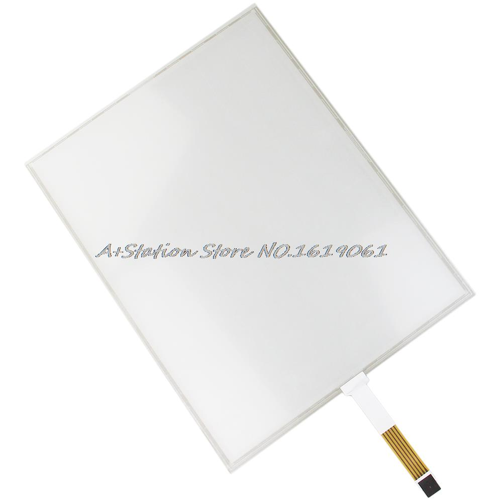 ФОТО New 15 Inch 5 Wire Resistive  Industrial USB Touch Screen Glass For 15