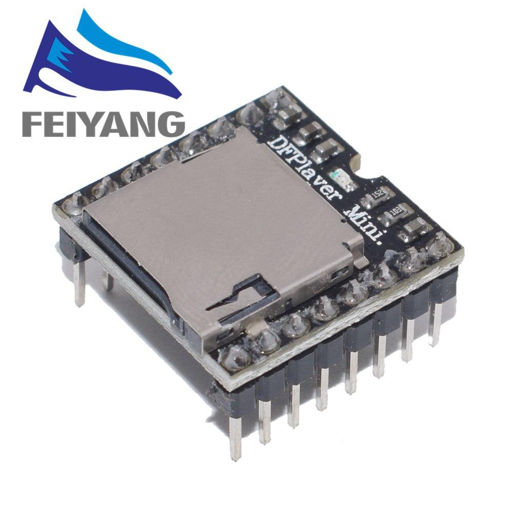 1PCS Mini MP3 Player Module TF Card U Disk Mini MP3 Player Audio Voice Module Board For Arduino DF Play Wholesale