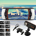 2.7 Dual Lens Car Vehicle 1080P HD Dash Camera DVR Cam Night Vision Recorder