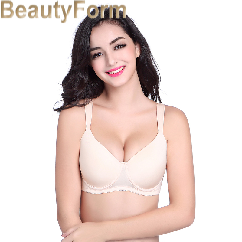 8648 Seamless Mastectomy Bra Comfort Pocket Bra for Silicone Breast Forms Artificial Breast Cover Brassiere Underwear