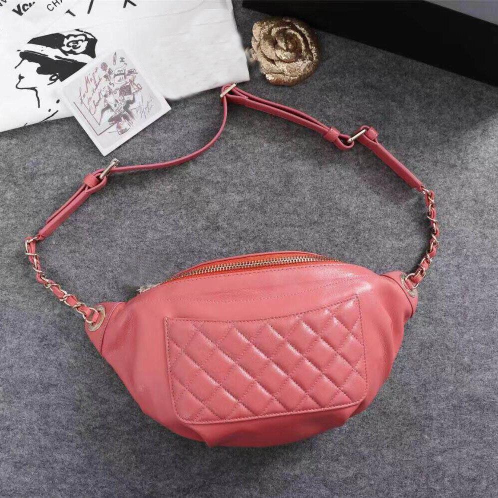 Роскошные CC поясная сумка женская сумка дизайн классический бренд один сумка, сумочка и талии мешок