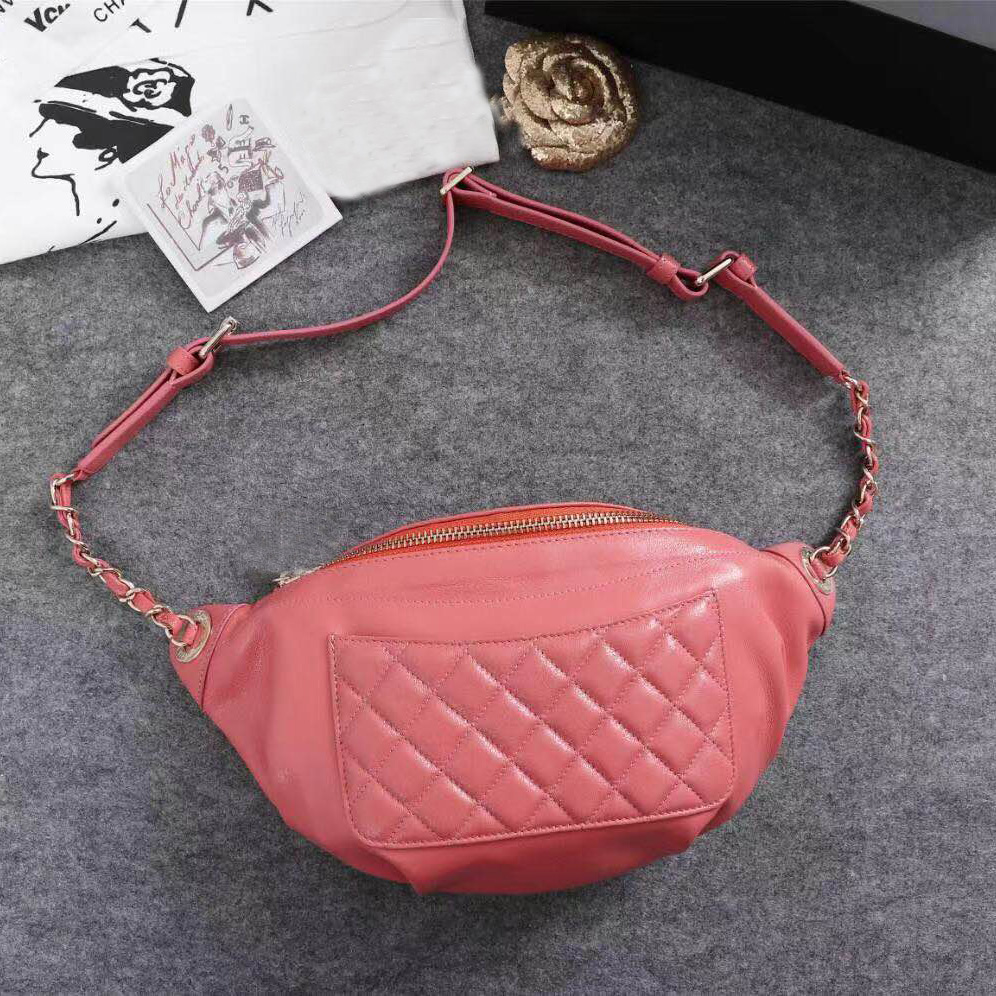 Luxury CC belt bag women bag design classic brand single shoulder bag, handbag and waist bag stylish metallic and weaving design shoulder bag for women
